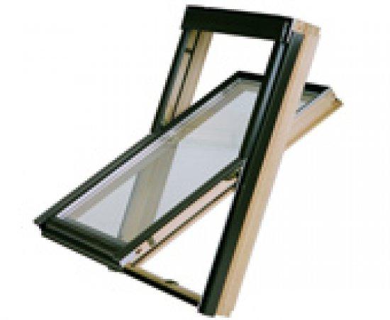 Мансардное окно OKPOL TERMO N 02 (55х98)